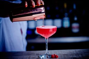 Strawberry Daiquiri at MPW Steakhouse Bar and Grill