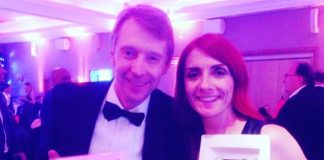 Andy Crane and Joanna Jones