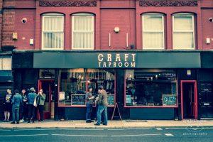 Craft Taproom vegan market
