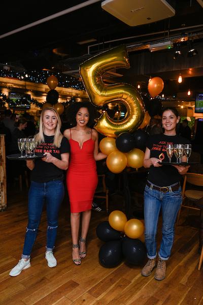 Bierkeller Liverpool fifth birthday celebrations