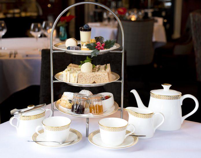 Thornton Hall's Christmas afternoon tea