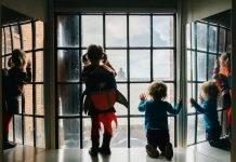 Kids enjoying The Tate, Rachel Ryan Photography