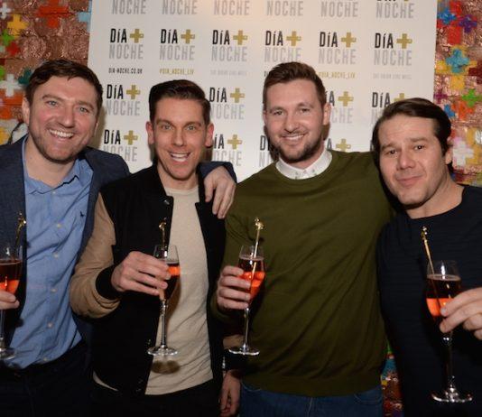 Ryan McMahon, Anton Powers, Tom Hardwick, Alex Hannah at Dia + Noche Liverpool