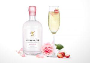 Organic Liverpool Rose Petal Gin