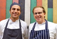 Lorenzo and Alesandro at Liv Organic