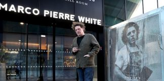Marco Pierre White at Wheeler's Liverpool