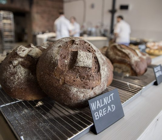 Rough Hand Made bakery on the Royal Albert Dock Liverpool