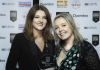 Good Taste Magazine editor Jade Wright presents the Liverpool Food and Drink Festival award for best festival newcomer to Fazenda