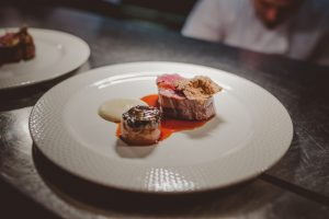 The fillet of beef at Restaurant 1539