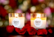 Owen Drew candles