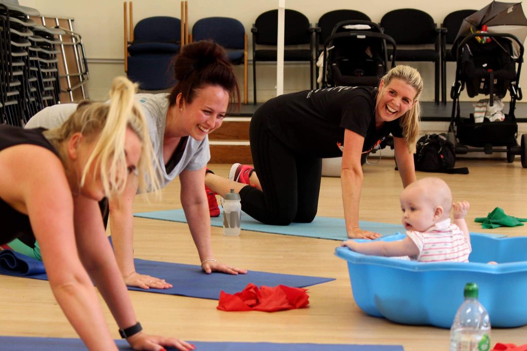 Movement and Bloom postnatal fitness classes Wirral
