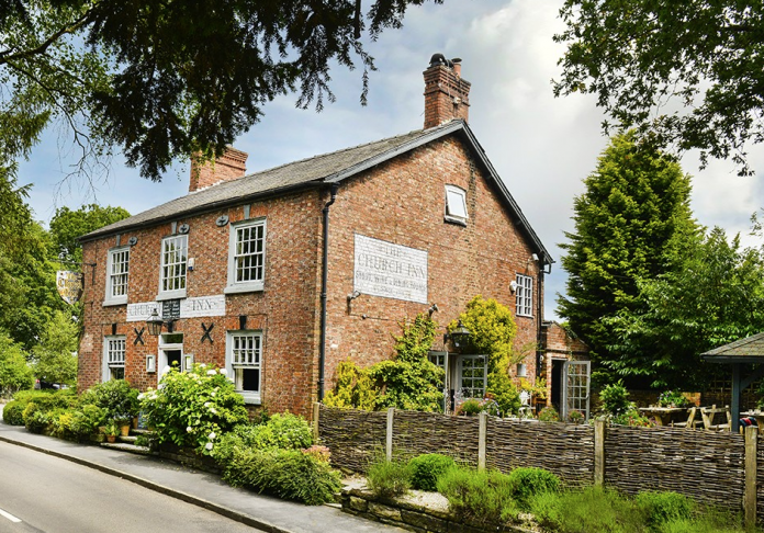 National Pub & Bar Awards winner, The Church Inn in Mobberley, Cheshire