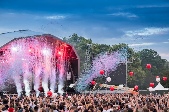 Liverpool International Music Festival (LIMF) in Sefton Park