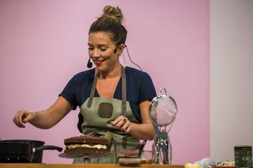 Candice Brown at the Cake & Bake Show