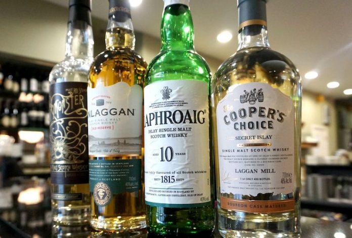Delifonseca shows off a fine range of single malt whiskeys