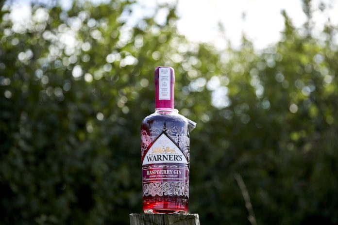 Warner's Gin, raspberry